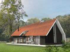 Wooden House, My Dream Home, Home Goods, New Homes, Villa, Barn, Nice Houses, Home And Garden, House Design