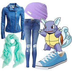 """Pokemon Tribute 4: Wartortle"" by littlemisstoxin on Polyvore"
