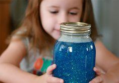 Pote da calma para crianças. Uma técnica excelente para ajudá-los em momentos de crise de ansiedade.
