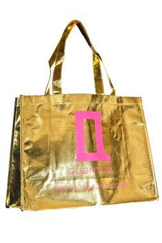Promotional Reusable Metallic Tote Bag