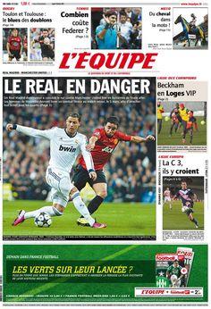 L'Équipe - Jeudi 14 Février 2013 - N° 21398