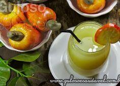 Suco de Caju com Água de Coco