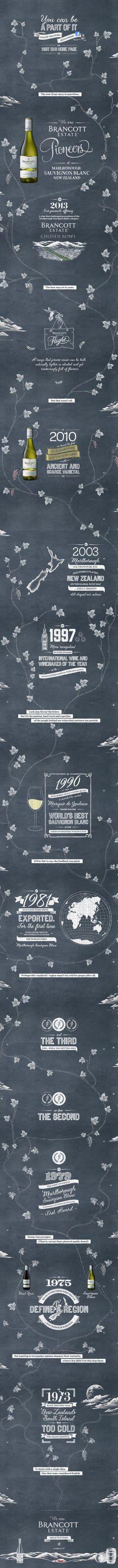 Brancott Estate. 40 years of wine-making history in a one page (upside-down) scroller. #webdesign #design (scheduled via http://www.tailwindapp.com?utm_source=pinterest&utm_medium=twpin&utm_content=post4060913&utm_campaign=scheduler_attribution)