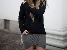 sweater+skirt