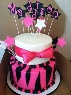 Diva/Zebra cake