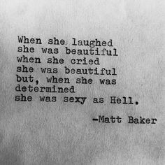 When she laughed she was beautiful, when she cried she was beautiful but, when she was determined she was sexy as Hell. - Geisha Secret #sexywoman #geisahsecret #intimatemoments #lovequotes www.shunga.com