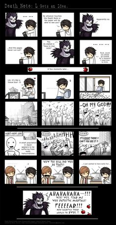 Death Note - Christian Forums. I didn't watch this anime yet but this is an interesting idea.