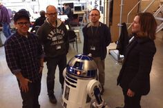 First 'Star Wars' Sequel Pic Reveals Gracefully Aged R2-D2