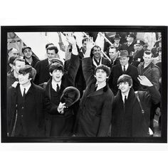 The Beatles Invade America Poster