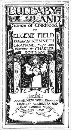 dutch lullaby eugene field