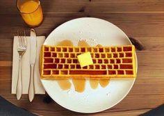 presenting Le E-#Waffles #food #habal #هبل #habaldotcom