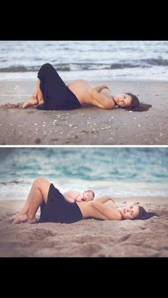 Beautiful maternity and new born pic!