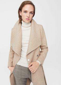 Lapels wool coat  REF. 11055671 - VENUS  din.15,990