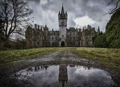 Chateau Miranda in Celles, Belgium is a castle that is a former orphanage from the World War II era. It has been abandoned since the 1980's and has not been cared for at all. The only people you will find around here are brave ghost hunters.