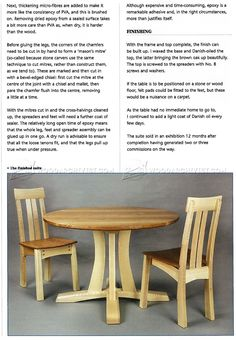 #1897 Round Pedestal Table Plans - Furniture Plans