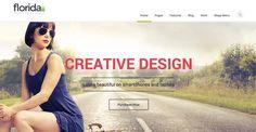 Florida – Premium Multipurpose Responsive Theme #wordpress #theme #business