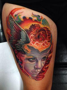 Bipolar symbols and symbols tattoos on pinterest for Bipolar disorder tattoo