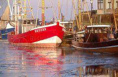 Harlingerland Nordseeküste Reiseorte in Ostfriesland Landkreis Wittmund Fotos: Neuharlingersiel Hafen