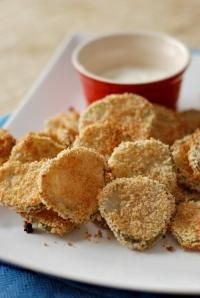 Baked Pickle Chips | lemonsforlulu.com