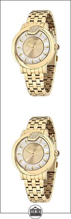 Just Cavalli Reloj de cuarzo R72535985 2 Oro/Blu  ✿ Relojes para mujer - (Gama media/alta) ✿