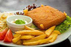 Fired cheese - Cuisine of Czechia #food #Czechia