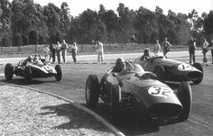 1960 Buenos Aires (Jose-Froilan Gonzales Ferrari D246, Gino Munaron Maserati 250F, Bruce McLaren Cooper T51)