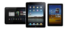 These are the best tablets based on our testing, including iPads, Android tablets and kids tablets. Small Computer, Tablet Computer, Data Meaning, Side By Side Comparison, Tablet Reviews, Cool Things To Buy, Good Things, Computer Accessories, That Look