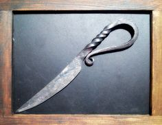 Small knife made by my husband Marek ...I like it :)