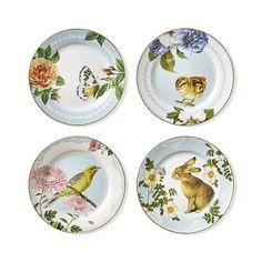 Spring Garden Salad Plates, Set of 4 #williamssonoma