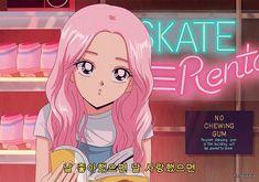 Image about pink in anime aesthetic K-pop by 地獄の疲れ 90 Anime, Anime Gifs, Fanarts Anime, Kawaii Anime, Anime Art, Pink Aesthetic, Aesthetic Anime, Desu Desu, Cartoon Profile Pics