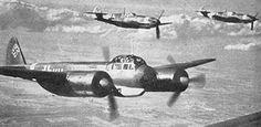 Ju88 with Me109 escort
