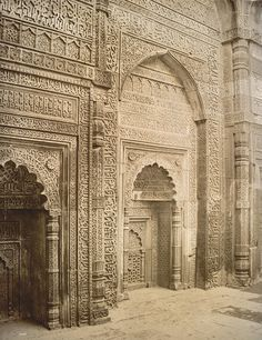 Vintage Indian Architectural detail