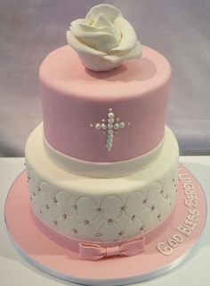 christening cake pictures | Monika Bakes Custom Cakes Portfolio, weddings, 3d cakes, birthdays ...