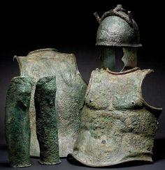Etruscan Armor 4-3rd century BCE