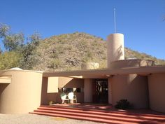 Jester/Pfeiffer House  Designed 1938  Built 1971 on the grounds of Taliesin West