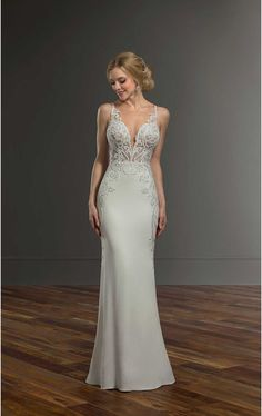 Martina Liana Wedding Dresses - Search our photo gallery for pictures of wedding dresses by Martina Liana. Find the perfect dress with recent Martina Liana photos. Classic Wedding Dress, Boho Wedding Dress, Designer Wedding Dresses, Bridal Dresses, Wedding Gowns, Wedding Ceremony, Martina Liana, Vows Bridal, Plus Size Wedding