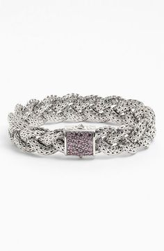 John Hardy 'Classic Chain' Medium Braided Bracelet available at #Nordstrom