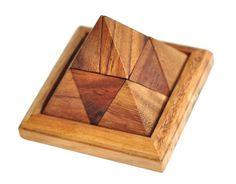 Amazon.com: Pyramid Games , Pyramid puzzle , Pyramid Wooden Game , Pyramid blocks , Pyramid cube , Pyramid toys: Toys & Games
