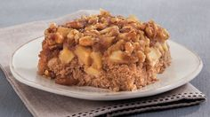 Looking for a dessert made using Betty Crocker® SuperMoist® spice cake mix? Then check out this upside-down apple cake – a delicious treat.