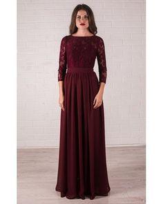 Vestido Longo Renda Musseline Madrinha e Festa de Casamento sob medida