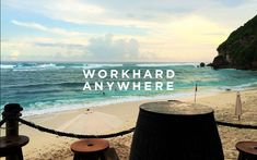 Finn Beach Bali - Work Hard Anywhere | WHA — Laptop-friendly cafes and spaces. (Wifi, outlets, seating, and more)