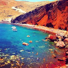 red beach greece - Google Search