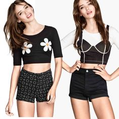 33ec55a3cba13 15 Printed outside wear bra daisies Printed slightly loose short sleeve  short round collar Female