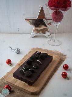 Turrón de tres chocolates con Oreo | Cocina