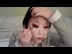 Spring 2011 Red Monolid Eyes (Sympathy for Lady Vengeance makeup inspiration)