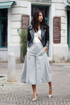 c1d0776f24b 20 Style Tips On How To Wear Culottes