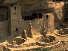 Anasazi Cliff Dwellings, Utah