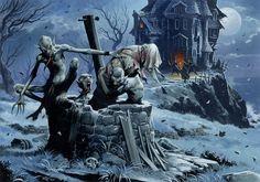 D&D Pathfinder Ghouls