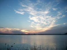 Another evening at the lake in San Angelo..this one on May 22nd. Nice mix of color & clouds as the sun went down.