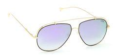 Buy Now I-Gog Sunglasses Unisex Golden Purple Mercury Large Aviator IG-5986-GL-PRM Online : US , Italy
